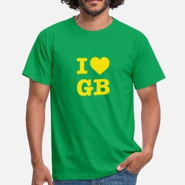 Green Bay Packers Ich liebe Green Bay American Football Fan Motiv - Männer T-Shirt