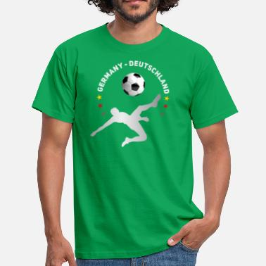 Omhaal doel omhaal Voetbal Duitsland Meister thee - Mannen T-shirt
