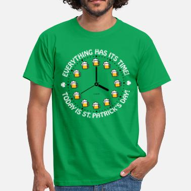 Drinking Team Today Is St. Patrick's Day Saint Patrick Beer PNG - Camiseta hombre
