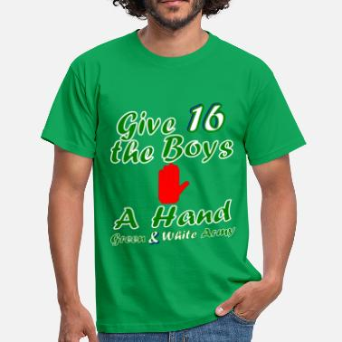 Green and White army 2016 - Men's T-Shirt