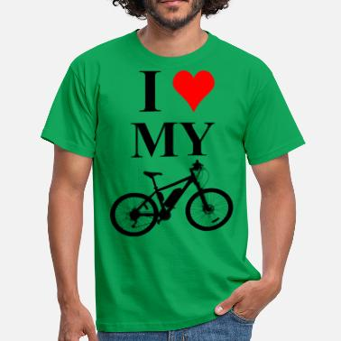 I Love My Bike I love my bike - Men's T-Shirt