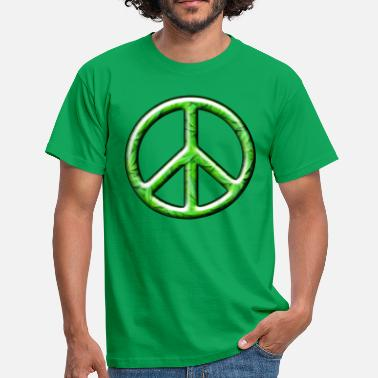 Cnd 3D CND Weed Leaves - Men's T-Shirt