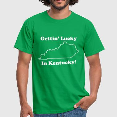 Gettin' Lucky In Kentucky School of Rock - Men's T-Shirt
