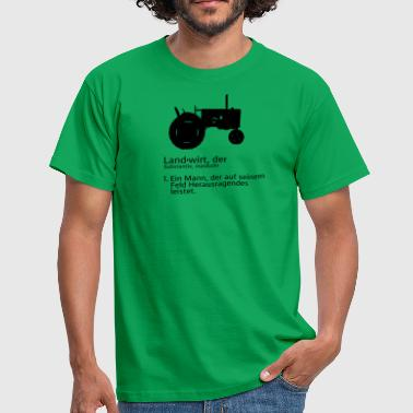 Dictionary THE FARMERS IN DICTIONARY - Men's T-Shirt