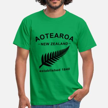 Aotearoa New Zealand Design 6 - Männer T-Shirt
