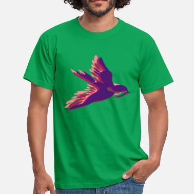 Girls Swallow swallow - Men's T-Shirt