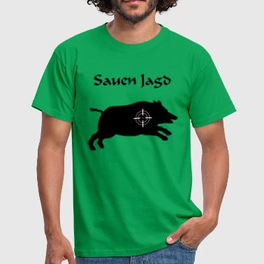 Sows hunting - Men's T-Shirt