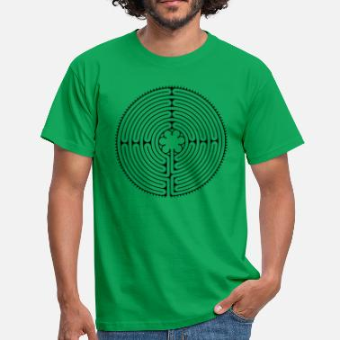 Chartre Labyrinth of Chartres Cathedral - Herre-T-shirt