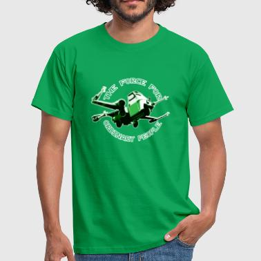 X-wing Ordinary green - Männer T-Shirt