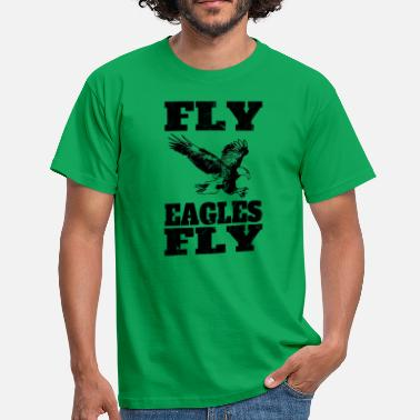 Philadelphia Eagles Fly Eagles Fly - Bird Gear - Philly - T-Shirt - Maglietta da uomo
