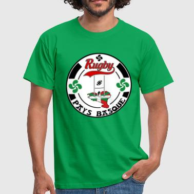 sport basque rugby 004 - T-shirt Homme