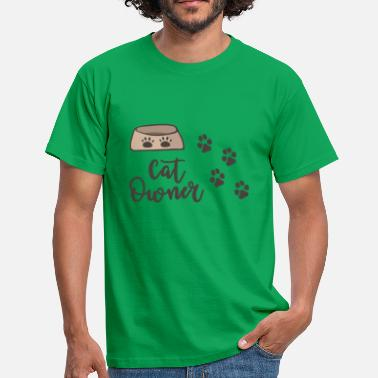 Cat Owner cat owner - Men's T-Shirt