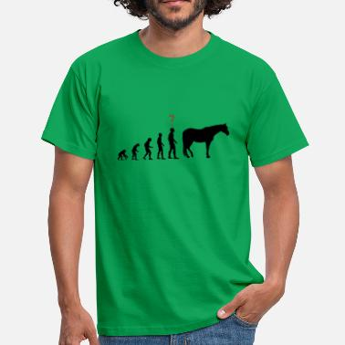 Evolution Horses Evolution horse - Men's T-Shirt