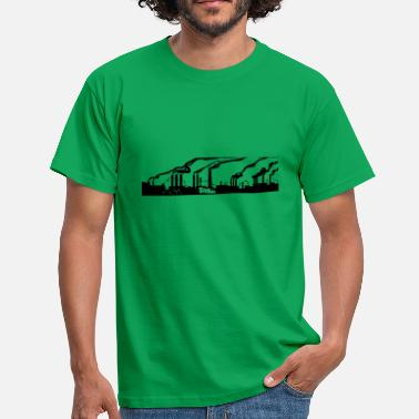 Plant Grounds industrial plant - Men's T-Shirt