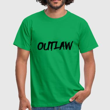 Outlaw Outlaw - Mannen T-shirt