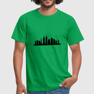 New York skyline - Mannen T-shirt