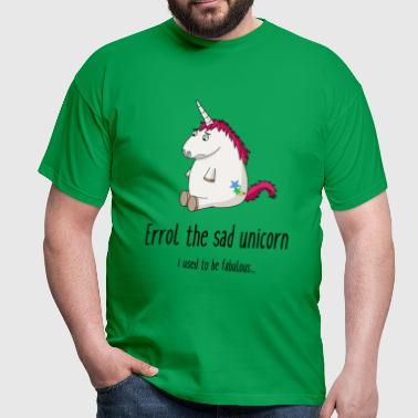 Sad unicorn - Men's T-Shirt