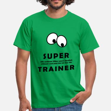 Co Trainer Fussball SUPER TRAINER - Männer T-Shirt