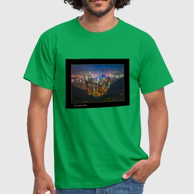 DSLR Hong Kong Peak Canon - Men's T-Shirt