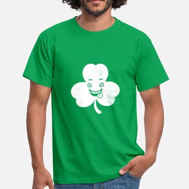 Wacky Wacky Shamrock - Men's T-Shirt