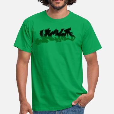Green Street Street style Black / Green - Men's T-Shirt