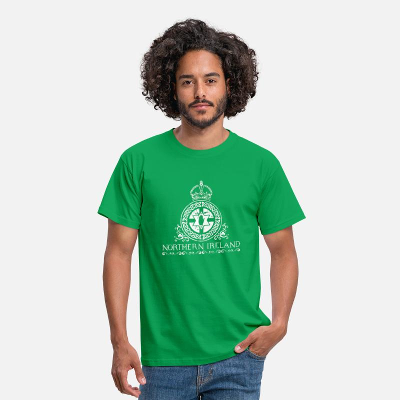 Ulster T-Shirts - Northern Ireland - Men's T-Shirt kelly green