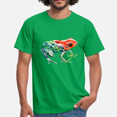 Red Head Frog with a red head - Men's T-Shirt