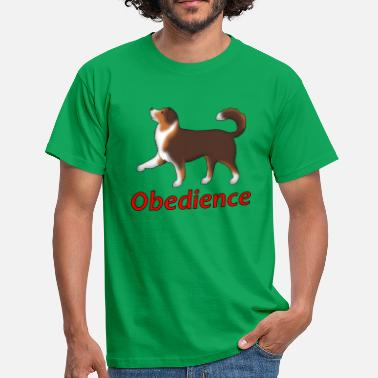 Obedience Obedience AS foot - Men's T-Shirt