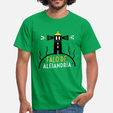 Phallus Phallus of Alexandria - Men's T-Shirt