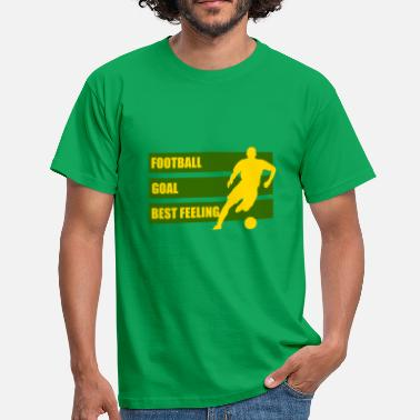 amour de football - T-shirt Homme
