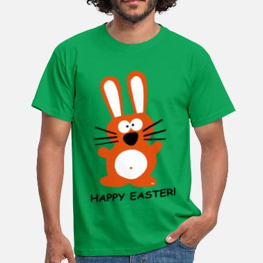Paashaas Pasen Paashaas Happy Easter Bunny Hare Konijn FUN  - Mannen T-shirt