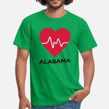 Alabama heart Alabama - Men's T-Shirt