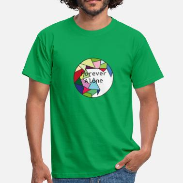 Forever Alone Camiseta Forever Alone colorful - Camiseta hombre