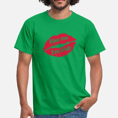 Kiss Me Im Irish Kiss me I'm Irish - Männer T-Shirt