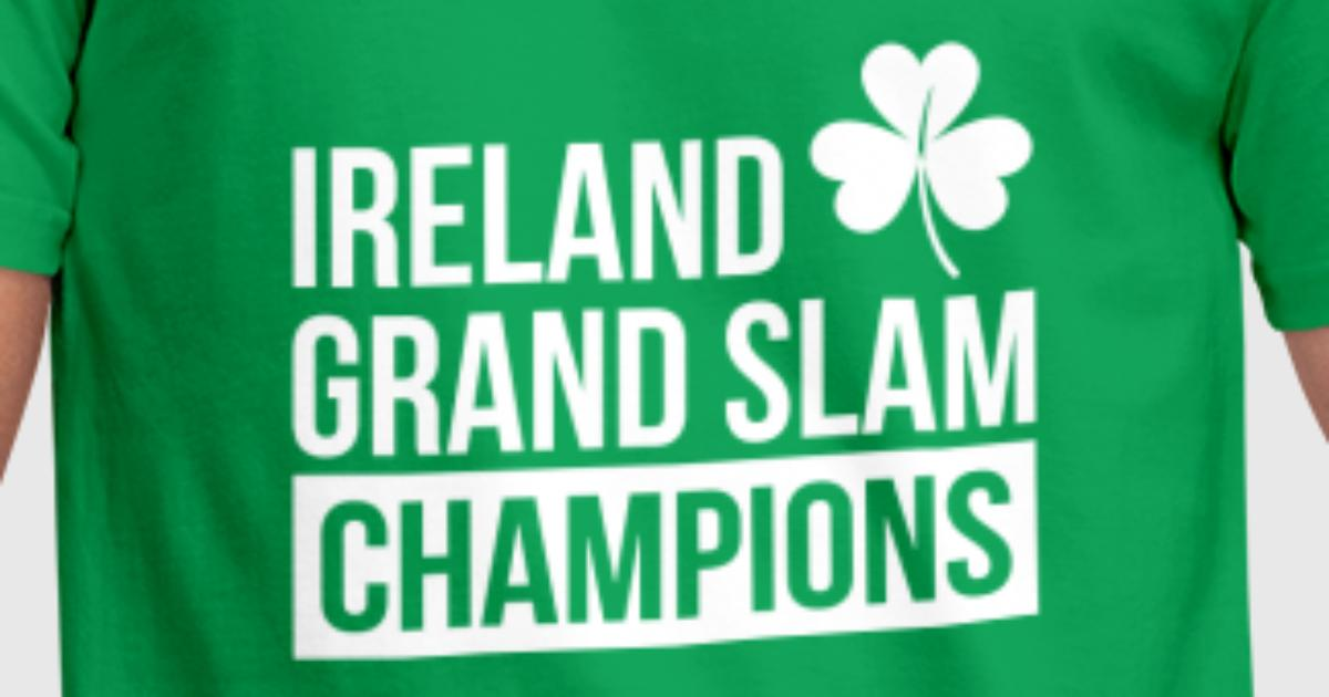 Ireland Rugby Union Grand Slam Champions By Stariconsrugby Spreadshirt