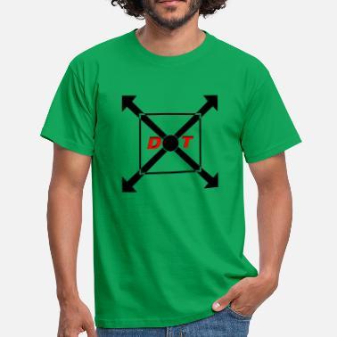 Punta Logo logo de puntos atrás - Camiseta hombre f2d2ad7be