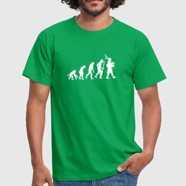 Cornemuse Humour Evolution Pipebag - T-shirt Homme