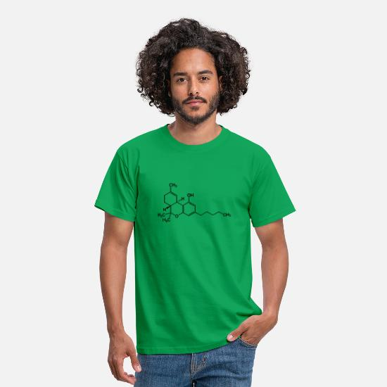 St T-Shirts - formula - Men's T-Shirt kelly green