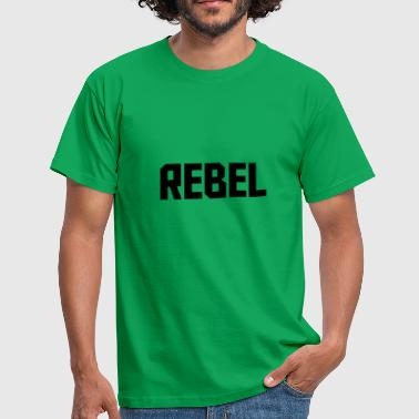 Rebel Flag Rebel - Herre-T-shirt