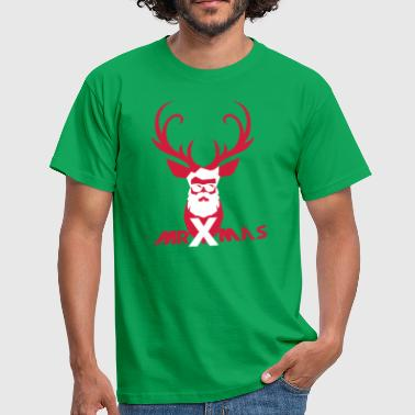 MrXmas_Shirt_red - Herre-T-shirt
