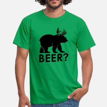 Beer Bear Beer bear - Men's T-Shirt