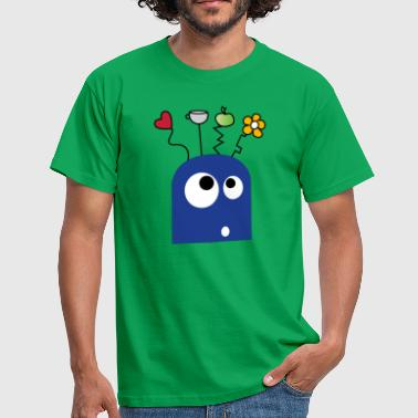 Goofy Monster - Men's T-Shirt