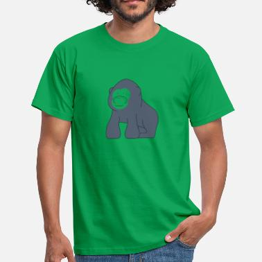 Baby Gorilla - Men's T-Shirt