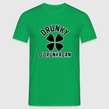 Drunky O'Drunkagan 2C - Men's T-Shirt
