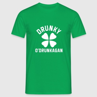 Drunky O'Drunkagan - Men's T-Shirt