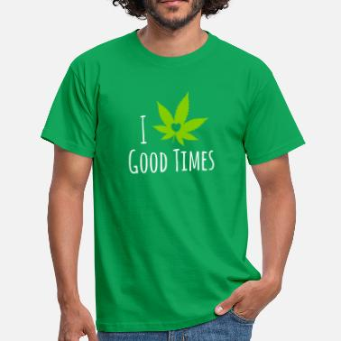 Weed Love - Men's T-Shirt