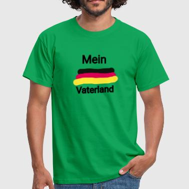 Country Of Birth My fatherland - Men's T-Shirt