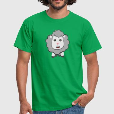 Moutons de grands yeux kawaii - T-shirt Homme