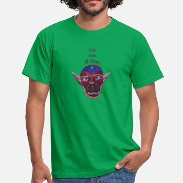 B Day Orc B Day - Men's T-Shirt