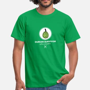 Durian Survivor-licht - Mannen T-shirt